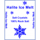 Halite Ice Melt